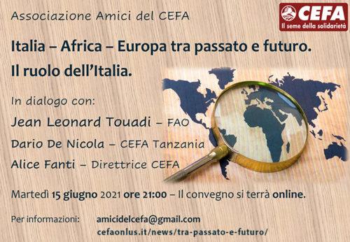 ITALIA – AFRICA- EUROPA TRA PASSATO E FUTURO. Il ruolo dell'Italia