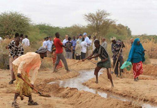 In Somalia 13km di canali serviranno a superare l'insicurezza alimentare