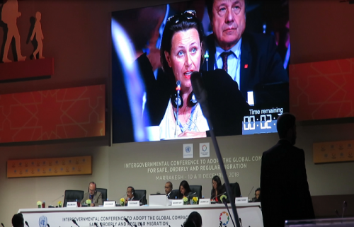 CEFA al Global Compact di Marrakech in Marocco