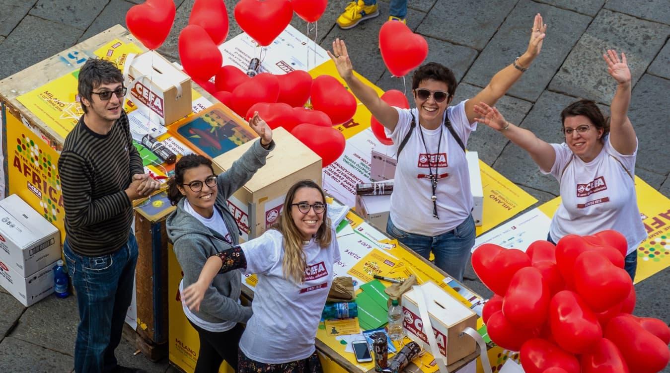 Evento Solidarieta - Volontari