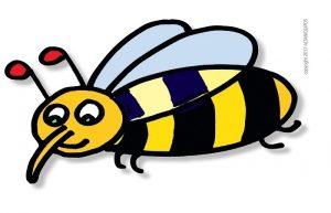 L'ape disegnata da Altan per progetti solidali di apicoltura in Africa