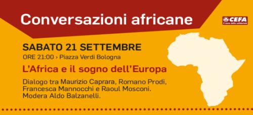 Conversazioni africane. L'Africa e il sogno dell'Europa