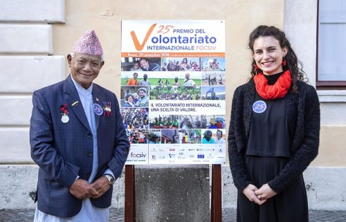 IL Volontario dell'Anno: Sanda Vantoni di CEFA
