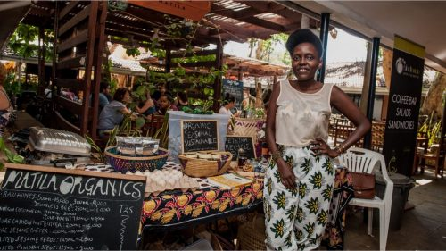 Mercato dei piccoli produttori a Dar Es Salaam in Tanzania